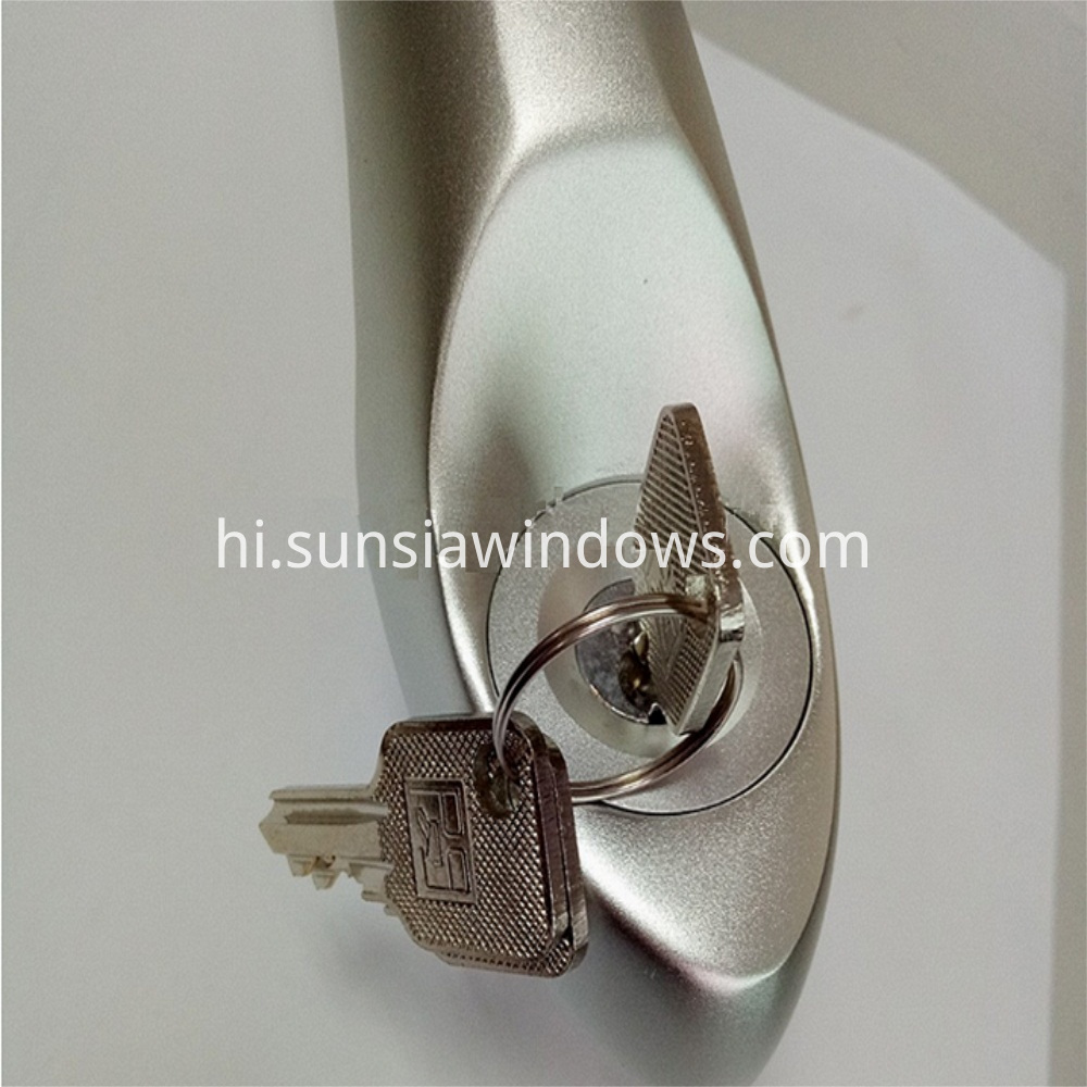 high quality lockable handle with key detail rev 1