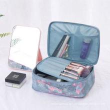 Customized Wholesale Fashion Design High Quality Printed Female Cosmetic Bag Travel Bag