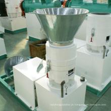 Uso doméstico pequena mini fábrica de pellets de alimentação