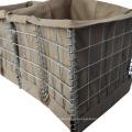 Fácil instalación Galfan Wire MIL 12 barrera Hesco