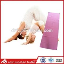 microfiber yoga towel with any custom logo,beautiful yoga towel,gym towel with logo