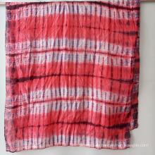 Ms New Modern Silk Tie-Dye Schals