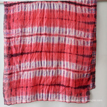 Sra. Nuevas bufandas modernas de seda Tie-Dye