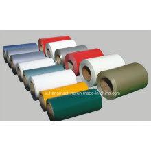 Bobines en acier de bobine / feuille / PPGI de couleur de toiture en métal