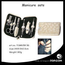 Kit de uñas acrílicas, diseños de manicura, pedicura y manicura.