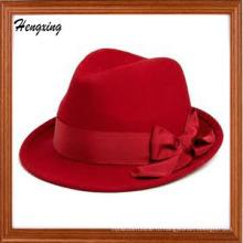 Изготовленные На Заказ Красные Шляпы Федора