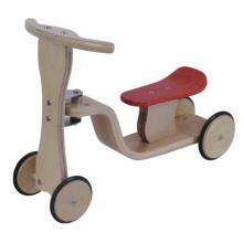 Brinquedo educacional de madeira / passeio em brinquedo / triciclo