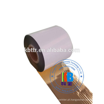 Fita de impressora material de resina de resina de lavagem de ouro brilhante fita de impressora de tinta térmica