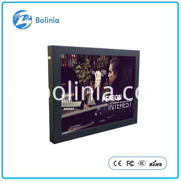 12 inch metal monitor security