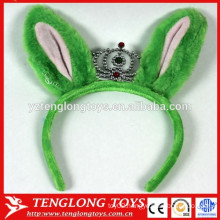 Cheap and cute plush rabbit hair band head band