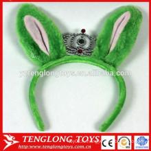 Дешевая и симпатичная плюшевая кроличья лента для волос