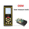 caza de telémetro 40m / 60m / 80m / 100m medición de distancia Medidor de distancia láser