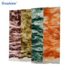 High quality marble plexiglass decorative plastic sheet