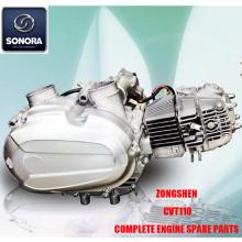 Zongshen CVT110 Ολοκληρωμένα ανταλλακτικά κινητήρα Γνήσια ανταλλακτικά