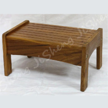 China for  Premium solid teak wood construction step stool supply to Jamaica Factory