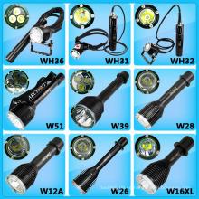 ¡Nueva linterna del salto! 26650 Interruptor magnético accionado con pilas Interruptor LED de buceo Linterna LED Linterna LED