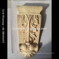 Decorative Wood Carving Antique Fireplace Corbel