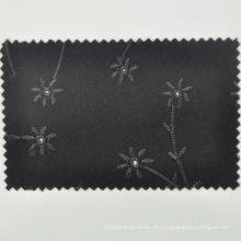 Tela merino de la flor del jacquard de la manera de la lana merino de Australia para la ropa tradicional por el patio