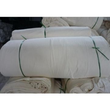 Tela 100% algodón gris bajo precio