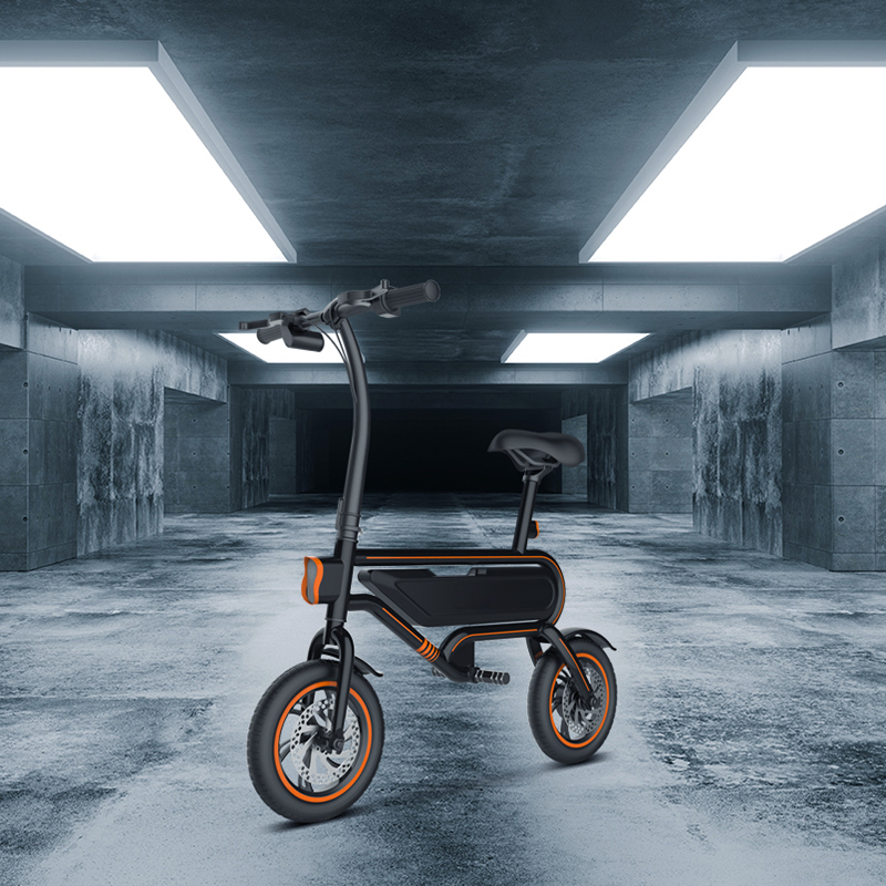 D1 Electric Bike Black10