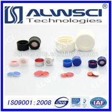 Fertigung Open Top Cap für Hochleistungs-Flüssigchromatographie-Durchstechflaschen