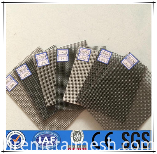 Stainless Steel Insect Window Screen