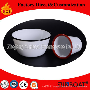Sunboat 15cm Enamel Bowl Cookware Tableware House