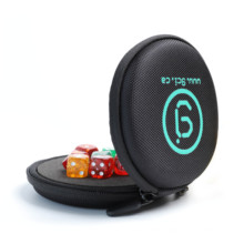SHBC Custom dice rpg display Protective Padded case  & Integrated Felt Dice Tray for Board Games, Tabletop Games and RPGs
