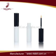 black & silver color high quality long lasting waterproof plastic eyeliner bottle