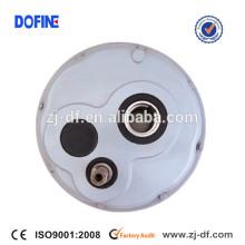 Reductor de velocidad de montaje de eje helicoidal TA100-D DXG100-D