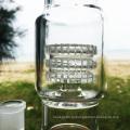 Двойной Swirl прямо новый стиль стекла курения труб воды (ES-GB-283)