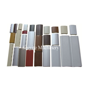 Aluminum+41+%26+55+PU+Shutter+Door+Machine