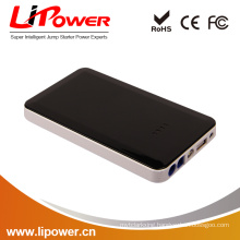 12V 8000mAh Powerful capability multi-function mini car jump starter with fast charging and low self-discharge