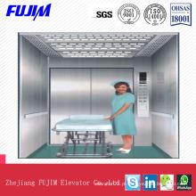 Elevador de maca de 3,0m / S com recurso de acessibilidade