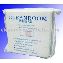 Les lingettes pour salles blanches de la série 2000 essuient les lingettes nettoyantes Good Sorbency 70% Polyester et 30% Nylon Fiber