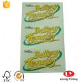 Autocollant PVC transparent imperméable adhésif personnalisé
