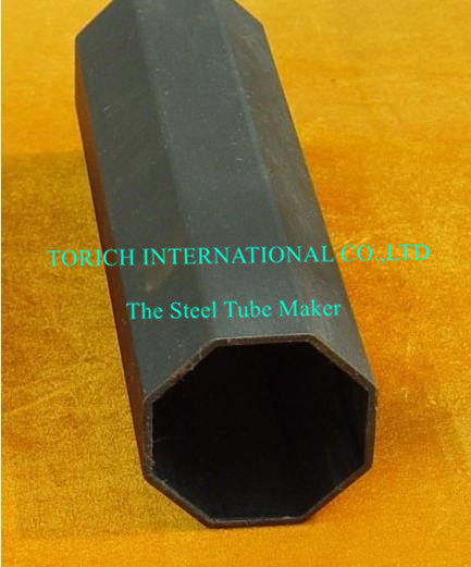 Seamless Octangon Steel Pipe GB/T 3094 Cold Drawn Tube 10#  Q195
