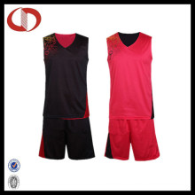 New Pattern Dry Fit Reversible Basketball Uniforms