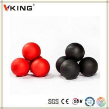 Подгонянный выгравированный Китай Сделанный силиконом резиновый шарик лакросса
