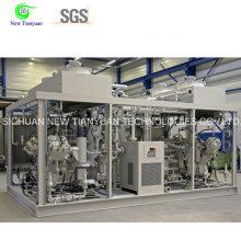 550-5400nm3h Capacity Range 2 Compression Stages Natural Gas Compressor