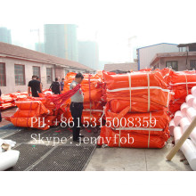 Solid Float PVC Oil Booms/Rubber Boom/Oil Fences