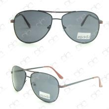 Gafas de sol unisex de la promoción del metal (MS13082)