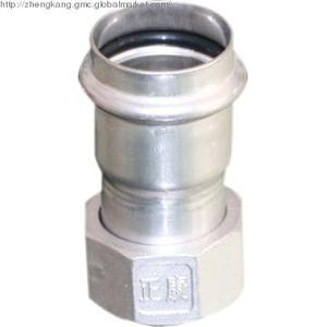 Stainless Steel V Type Adapter with Union Nut