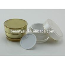 Plástico creme acrílico frascos cosméticos por atacado 2ml 5ml 10ml 15ml 30ml 50ml 100ml