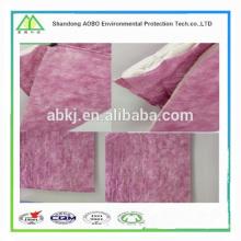 Fournir le support de filtre à air de sac de poche de fibre systémique soufflé par Melt