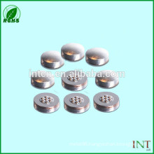 iso9001 standard electric accessories bimetal button contacts
