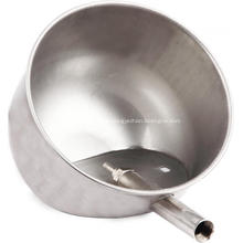 Taza de agua de cerdo de acero inoxidable
