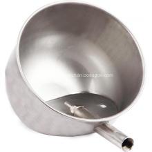 Tasse d'eau de porc en acier inoxydable