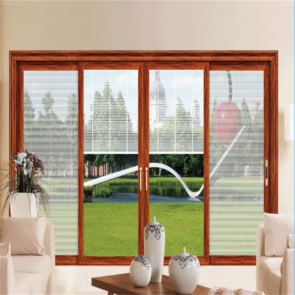 Aluminum Sliding Window with Rolling Shutter