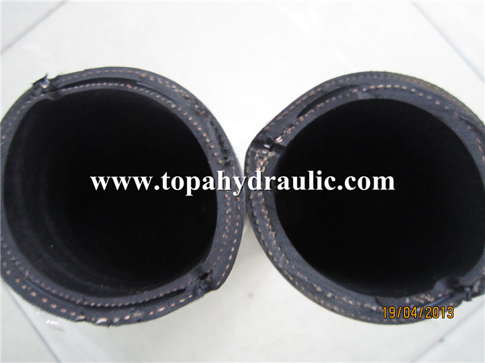 Flexible heat resistant industrial 2 inch rubber hose